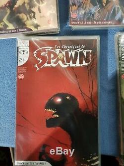 Les chroniques de Spawn (Delcourt) collection complète (1-36+HS) Fr