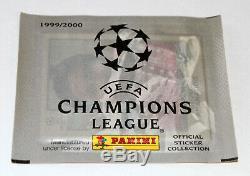 Ligue des Champions Panini 1999/2000 99/00 Complete Sticker Lot + Album Scellé
