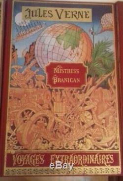 Livres collection complète Jules Verne 80 volumes édition michel de l'ormeraie