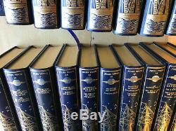 Lot 21 livres Jules Verne / Oeuvres complètes collection Jean de Bonnot