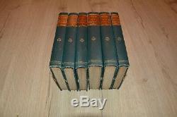 Lot 6 OEUVRES COMPLETES PLATON de 1 à 6 1885 par Emile Saisset BE