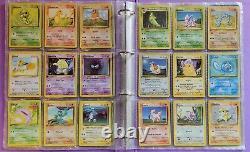 Lot Carte Pokemon Set De Base Complet 102/102