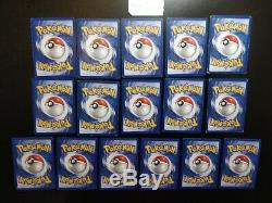 Lot Cartes Pokémon Set de Base COMPLET 102/102 Wizards FR