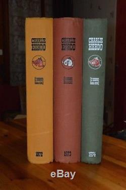 Lot Charlie Hebdo Les Reliures La Collection Complete Des 12 Annees 1969 A 1980