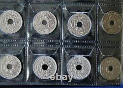 Lot / Collection Complète 10 Centimes Lindauer de 1917 à 1938