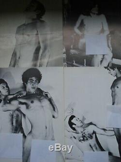 Lot Collection Complete 30 Cartes Postales Hommes Nus Gay De Brit Love 1973
