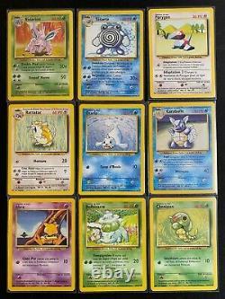 Lot Collection Set de Base Carte Pokémon quasi complet (98/102) Wizard 1999