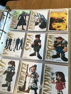 Lot Complet de cartes Final Fantasy 7 Carddass Masters Bandai