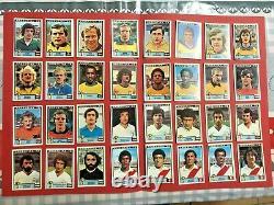 Lot De 133 Stickers Panini Argentina 78 1978 Tres Bon Etat Tous Differents