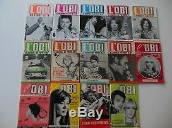 Lot De 15 Numeros De L'obi Du Porte-cles Serie Complete Tbe