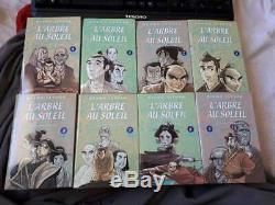 Lot Manga Intégrale L'arbre Au Soleil de Osamu Tezuka Complet 8 Tomes Tonkam VF