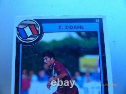 Lot Zidane Rookie 23 Vache Qui Rit Équipe De France 1996 Panini RARE Card 93 261