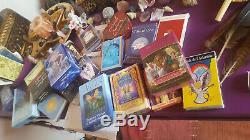Lot complet d'oracles et de tarots divinatoires