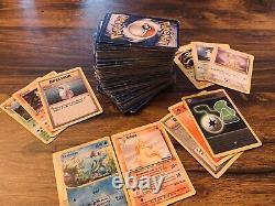 Lot de 200 Cartes Pokémon 1ère Édition 1995 (liste complète en déscription)
