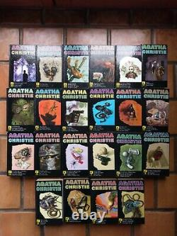 Lot de 22 tomes UVRES COMPLÈTES D'AGATHA CHRISTIE (Collection Le Masque)