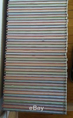Lot de 67 albums de Rahan (la collection complète). Altaya. Lecureux. Chéret. PIF