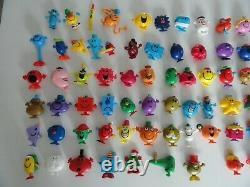 Lot de 90 figurines Monsieur Madame Mac (Mc) Do collection complète