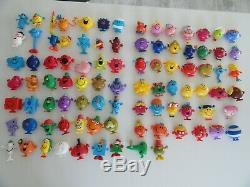 Lot de 90 figurines Monsieur Madame Mc Do Collection complète