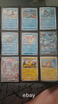 Lot de Carte Pokemon Eevee Heroes s6a Japonaise Regular set complet 69/69