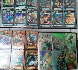 Lot de Cartes Deus AMIVAGES série 1 et 2 RARE et Complètes à 100% MINT et TBE