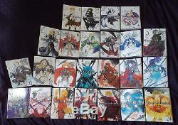 Lot de manga Pandora Hearts Tomes 1 à 24 (série complète)