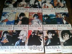 Lot intégrale blackjack black jack de osamu tezuka tomes 1 à 17 Asuka