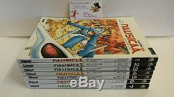 Lot mangas Nausicaä de la Vallée du Vent Tomes 1 à 7 Hayao Miyazaki Glénat VF