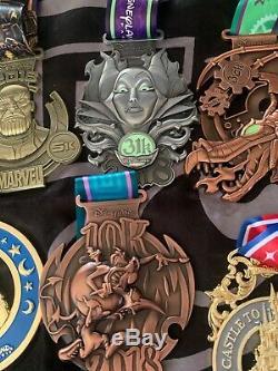 Lots medaille complete run disney 2018 7 model de médailles états neuf