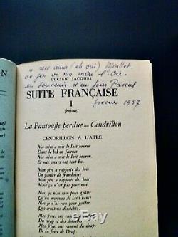 Lucien Jacques Jean Giono Cahiers de l'Artisan collection complète reliée, T. B