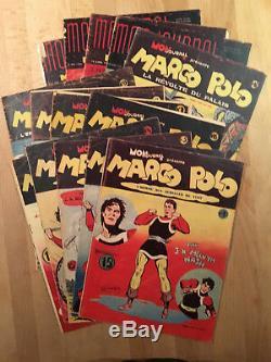 MARCO POLO Mon Journal Collection complète des 14 numéros