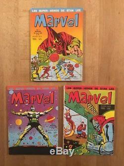 MARVEL Collection complète des 13 numéros en TTBE
