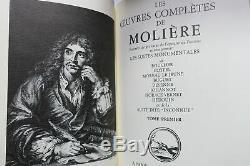MOLIERE LES OEUVRES COMPLETES DE MOLIERE Bonnot
