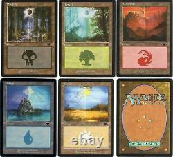 Magic The Gathering Set Complet De Guru Lands Tres Rare