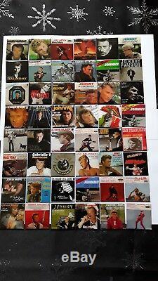 Magnets Johnny Hallyday collection lot de 94pcs complète
