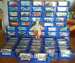 Magnifique Tintin En Voiture Collection Complète De 70 Voitures Bd + Bonus