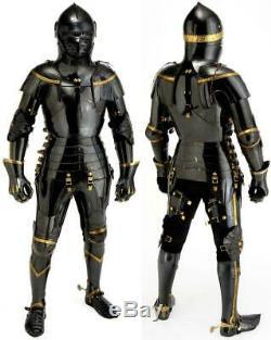 Médiévale Knight Suit de Armor Combat Complet Corps Warrior Cosplay Armure