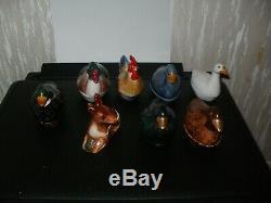 Michel Caugant collection complète des 8 minis terrines en parfait état