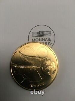 Mini medaille harry potter Monnaie De Paris Collection Complète Avec Vif Dor