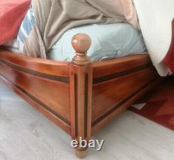 Mobilier complet de chambre à coucher ROCHE BOBOIS en bois massif 140X200