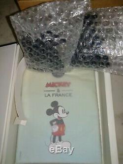 Monnaie de Paris Mickey et la France pièces 10 euro argent collection complet