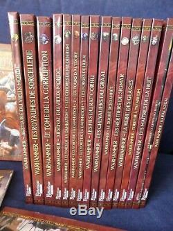 NEUF Warhammer Jeu de Rôle V2 VF collection quasi complète