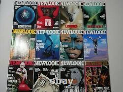 NEWLOOK, LOT COMPLET DE 110 MAGAZINES, COLLECTION RARE DATANT DE 1989 à 1998
