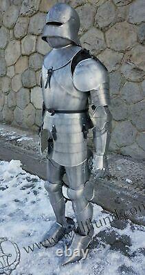 Noël Armure Médiévale Wearable Knight Crusader Complet Suit De Collection Ff