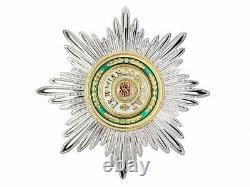 Ordre de Saint Stanislas 1e cl Kit complet Croix cordon Etoile. Russie impériale