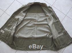 Oversmock, veste de saut parachutiste anglais WW2 complète Broad Arrow