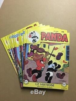 PANDA Editions Artima Collection complète des 18 numéros Neuf