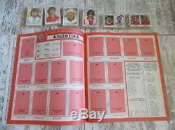 PANINI Mexico 86. Set complet de stickers + Album vide. Complet loose set