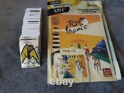 PANINI Tour de France 2021 Set Complet (album sous blister+366 Stickers)