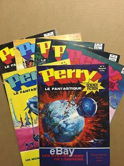 PERRY le Fantastique Collection complète des 12 numéros parus 1975/76 NEUF