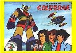 Panini Ageducatifs Le Retour De Goldorak Set Vignettes (complet)